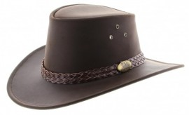 Chapeau en cuir Australien