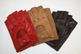 Gants de conduite en cuir pour femme
