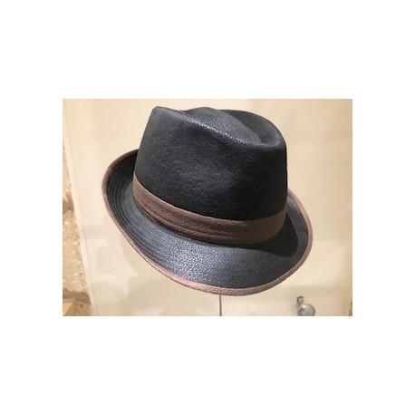 Chapeau simili  cuir