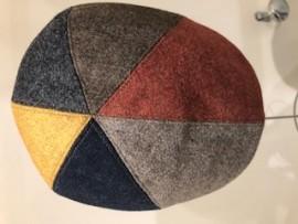 Casquette écossaise en laine
