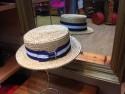 Chapeaux traditionnels canotier